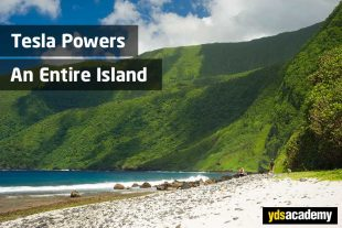 tesla-powers-island